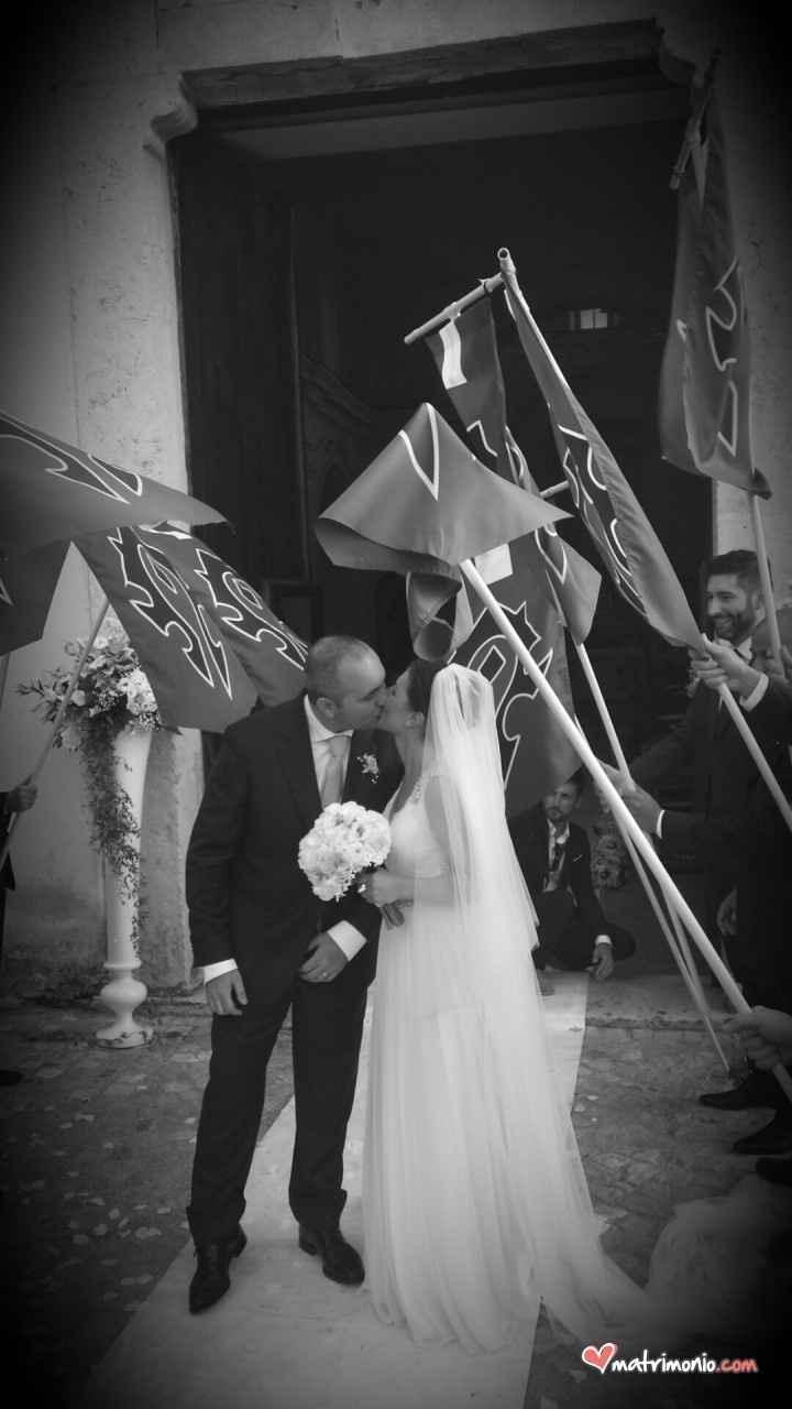 Finalmente marito e moglie!