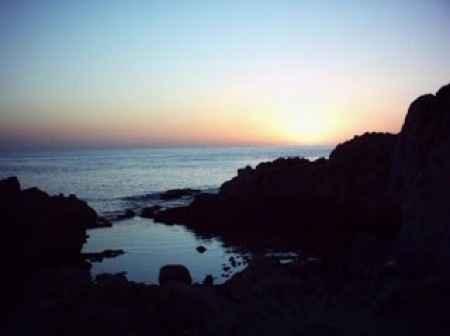 e il tramonto