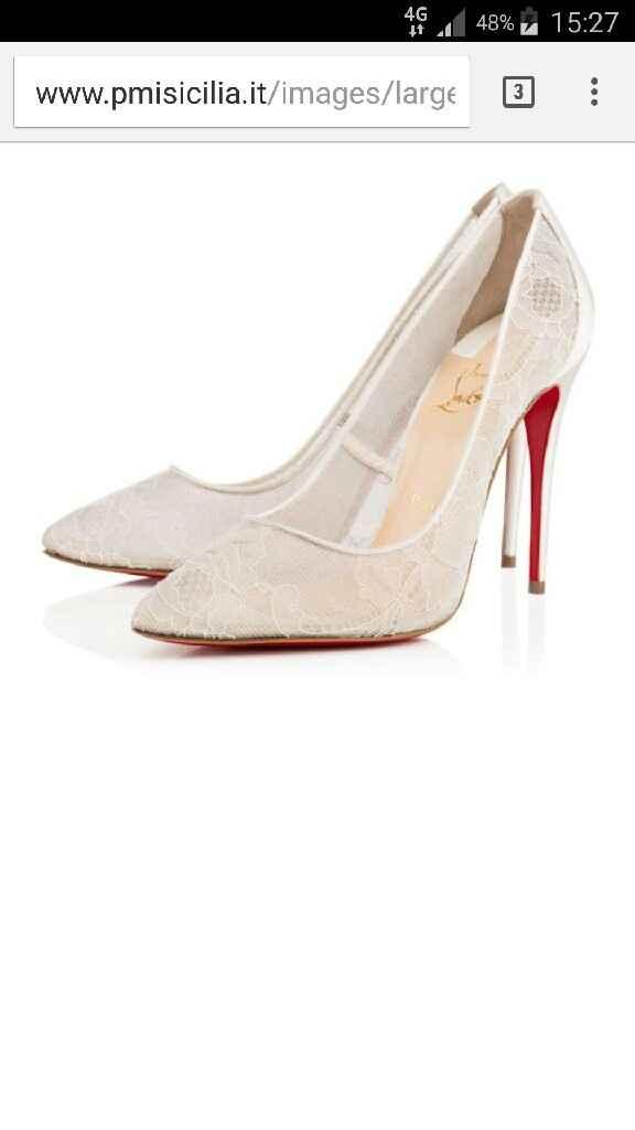 Le scarpe che vorrei indossare per il mio matrimonio... - 1