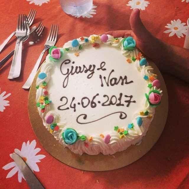 la nostra torta!!