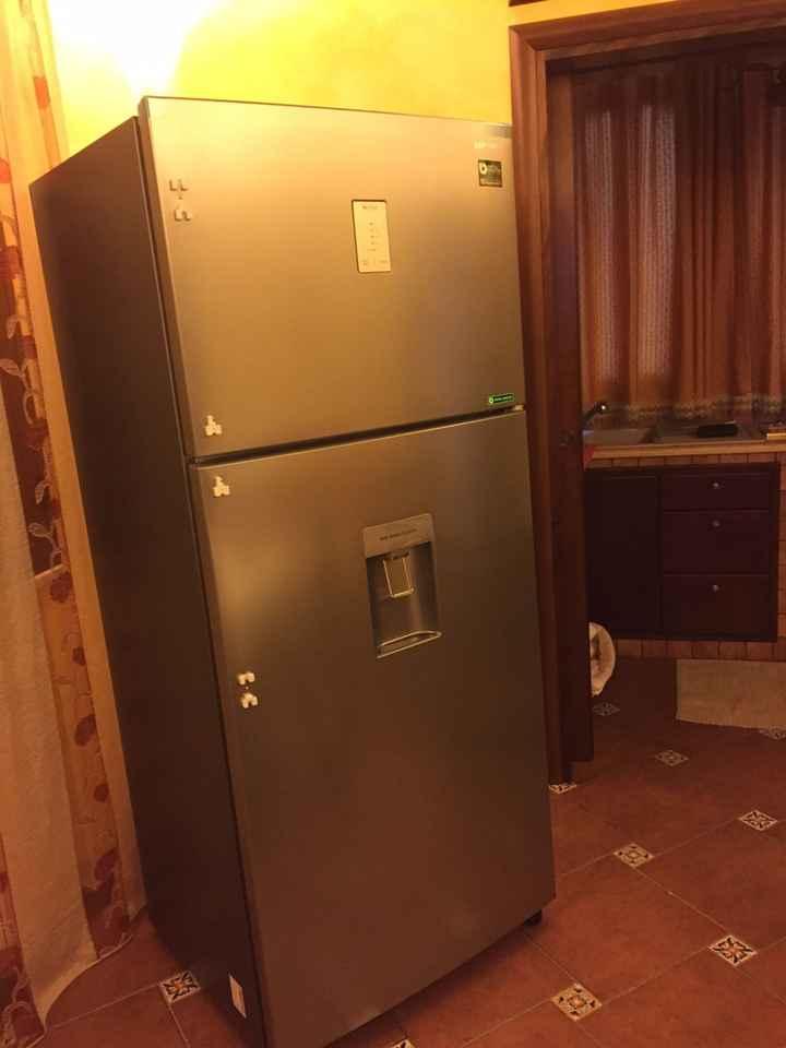 Il mio super frigo :)