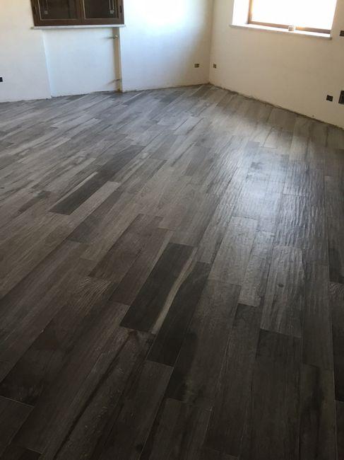Posa pavimenti effetto parquet - 1