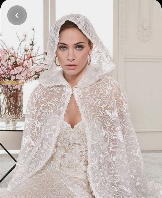 Nuovo must 2020: L'abito da sposa con la mantella 🤍 7
