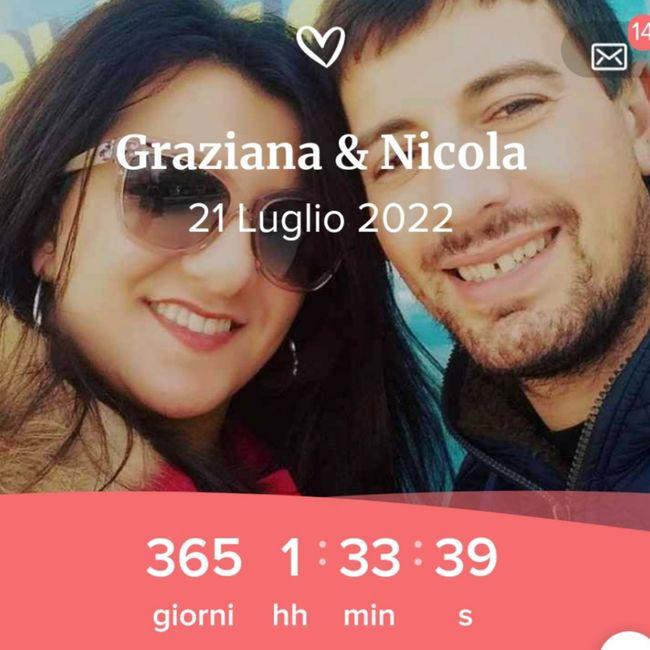 Il nostro countdown ⏳⏳⏳⏳⏳👰🤵❤🤴👸 1