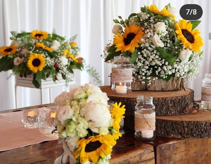 Bouquet con girasoli 3