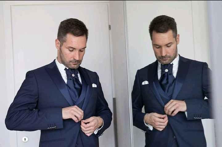 Vedere l'abito da sposo prima del matrimonio - 1