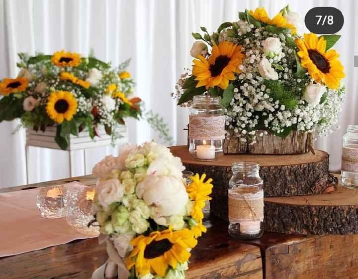 Bouquet con girasoli - 3