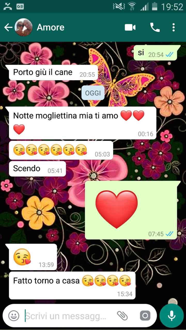 #Lovefriday - Qual è l'ultimo Whatsapp che avete inviato la vostro amore? - 1