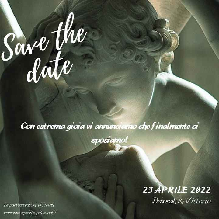 Save the date ❤ - 1