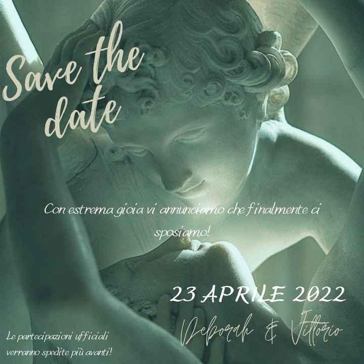 Save the date fai da te ♥️ - 1