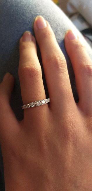 Speciale fedi: l'anello di fidanzamento - 1