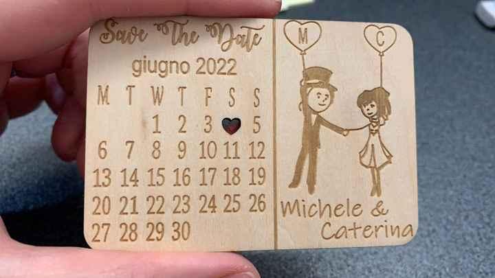 Save the Date Arrivati! e voi come li fate? - 1
