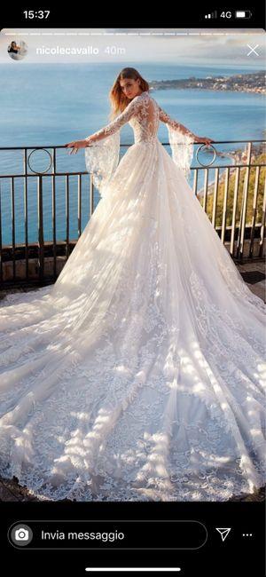 Abito da sposa Nicole Milano 3