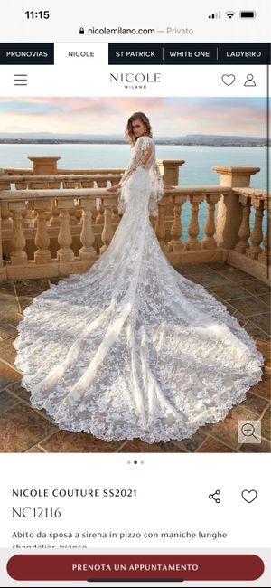 Abito da sposa Nicole Milano 2