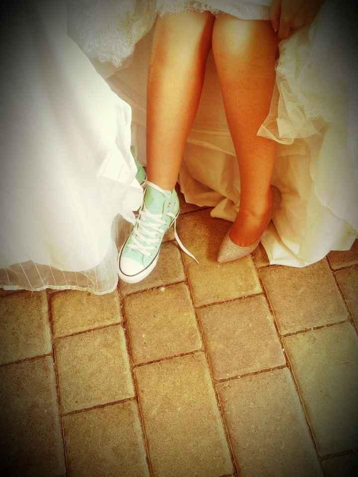 cambio scarpe!