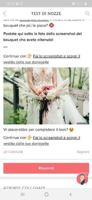 Fai lo screenshot e scopri il tuo bouquet 32