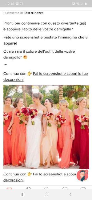 Fai lo screenshot e scopri il vestito delle tue damigelle 29