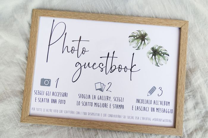 Photobooth/guestbook fai da te 3