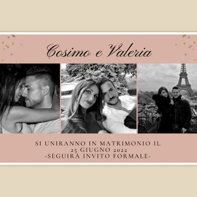Save the date 📝📍🥰 2