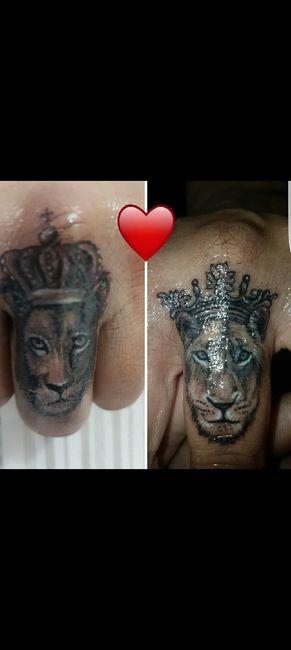 Tatuaggio coppia👩❤️👨 2