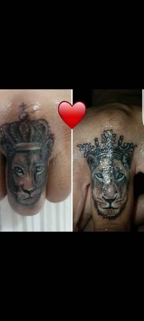 Tatuaggio coppia👩❤️👨 - 1