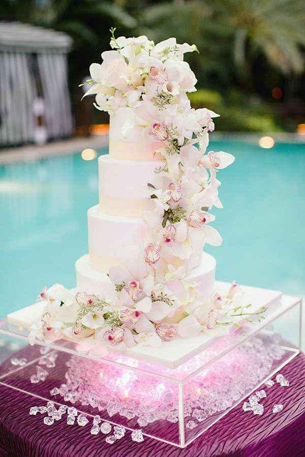 💖 Pink wedding cake 💖 - 1