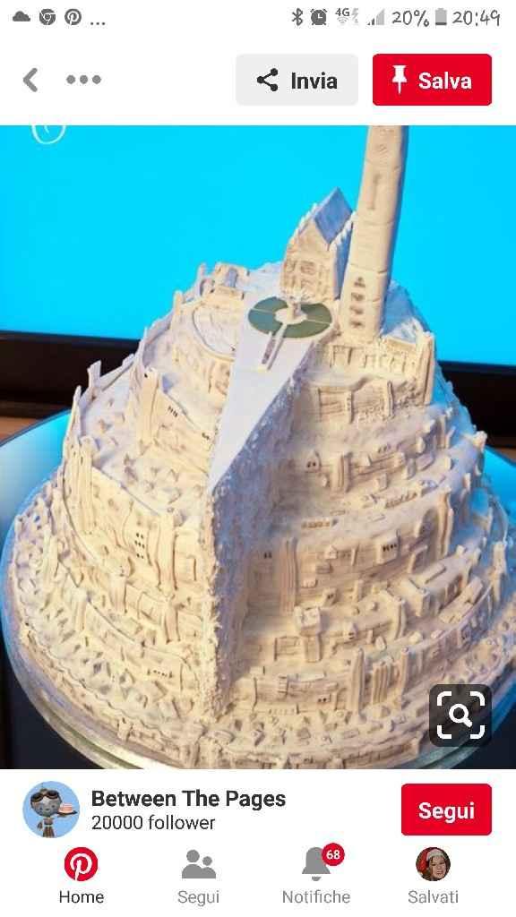 Torta nuziale originale: dai un voto a questa idea! - 1