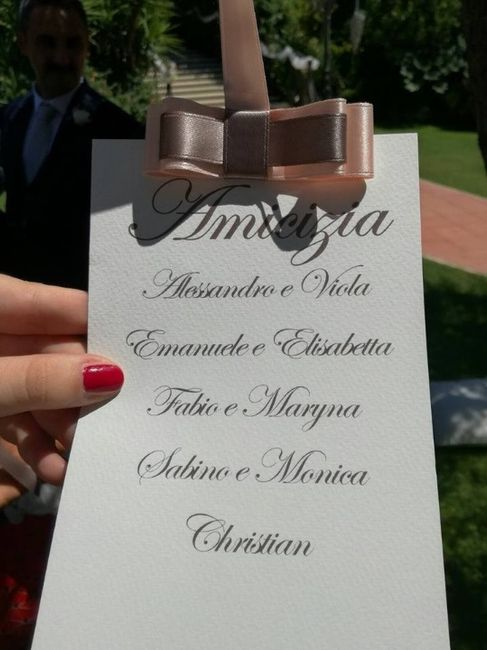 Nomi Dei Tavoli Help Organizzazione Matrimonio Forum