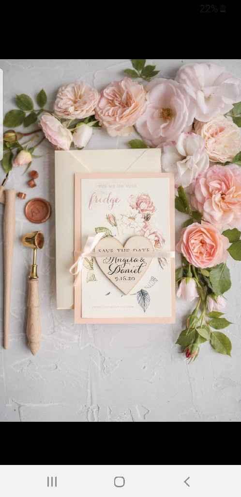 Partecipazione di nozze - 1
