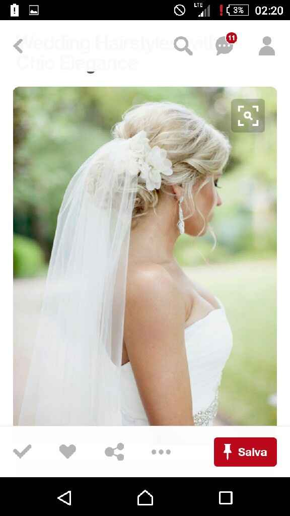 Velo sposa e fiori - 1
