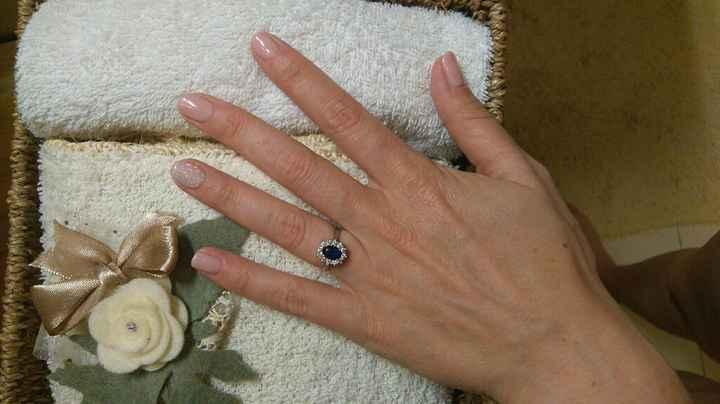 Manicure sposa rosa cipria 💅🏻 - 1
