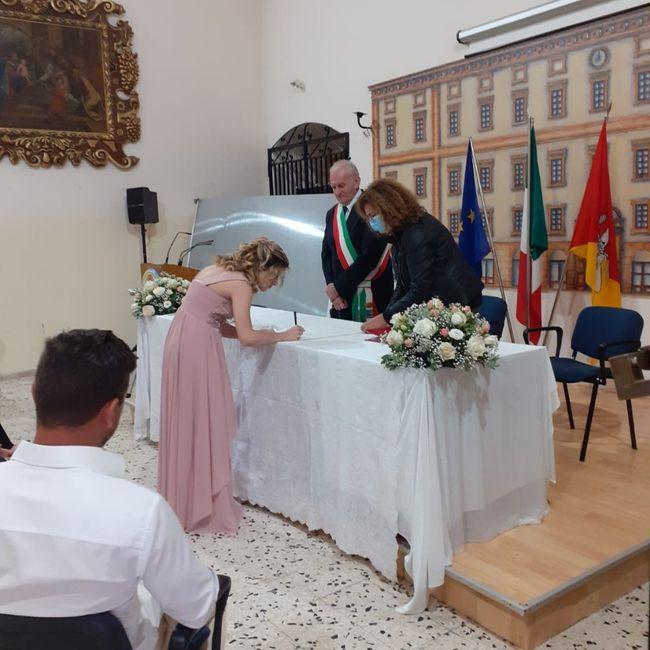 14 maggio, il nostro matrimonio civile 2