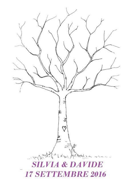 Amato Guestbook albero impronte - Fai da te - Forum Matrimonio.com WY94