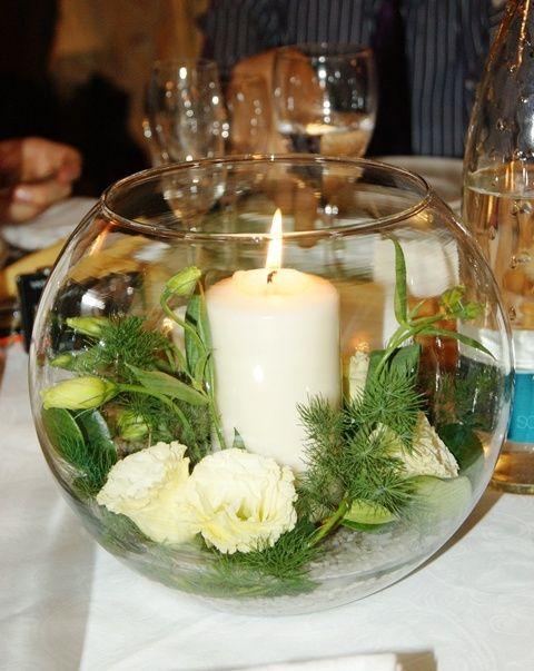 Centrotavola candele galleggianti organizzazione - Come curare un orchidea in casa ...