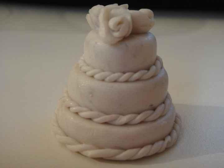mini wedding cake primo prototipo!