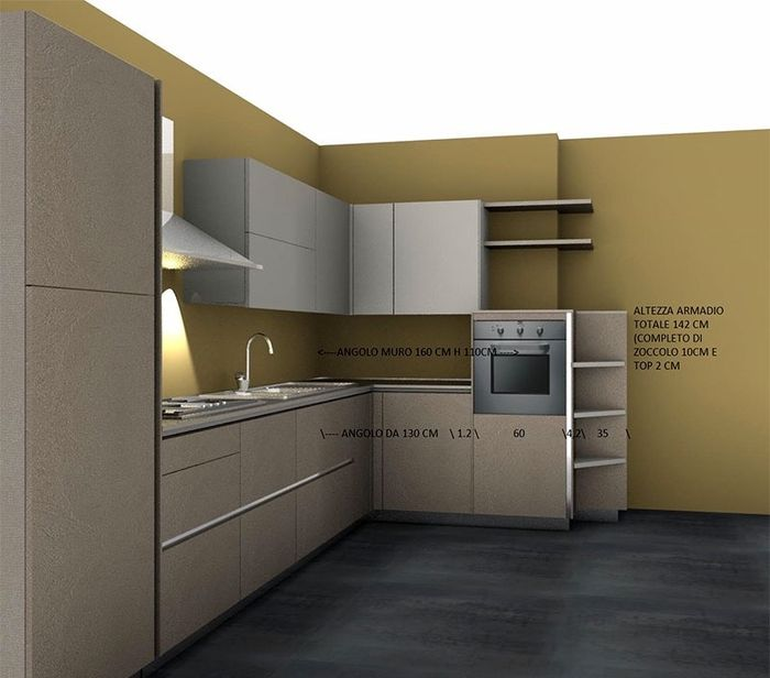 Cucina quanto mi costi vivere insieme forum - Cucina 3 metri angolare ...