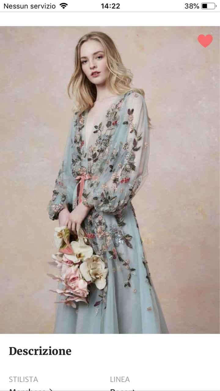 abito da sposa a pantalone - 1