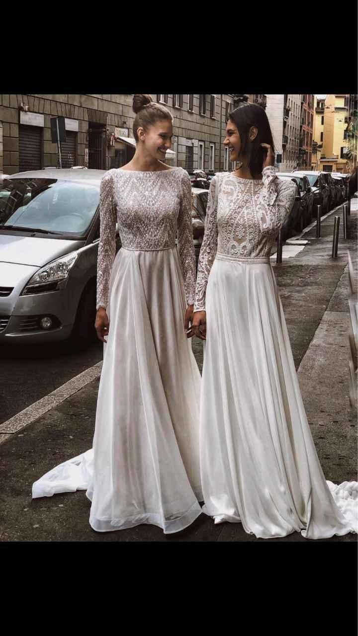 abito da sposa a pantalone - 3