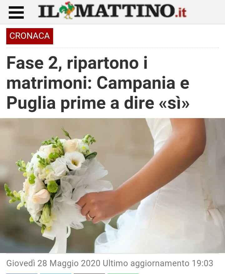 Ultime news dalla Puglia e dalla Campania - 1