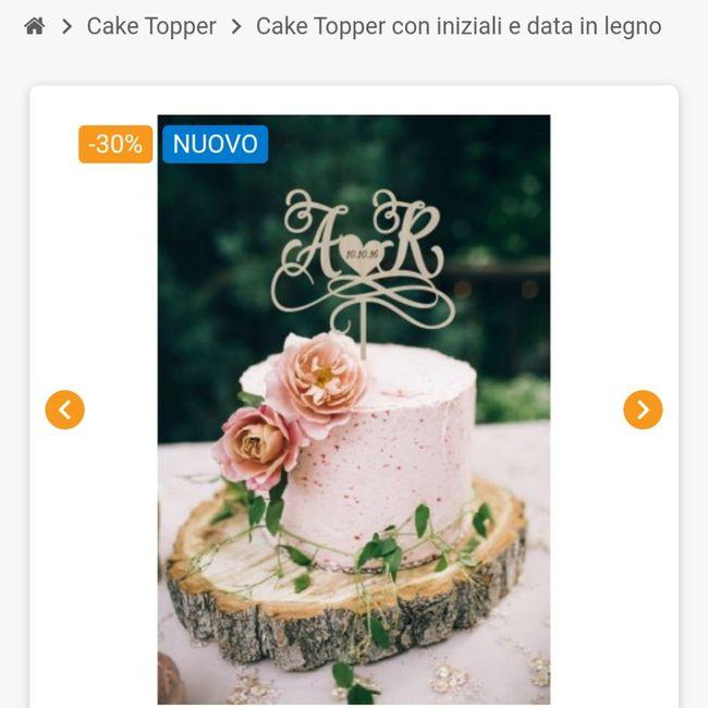 Cake Topper torta nuziale 🎂 3