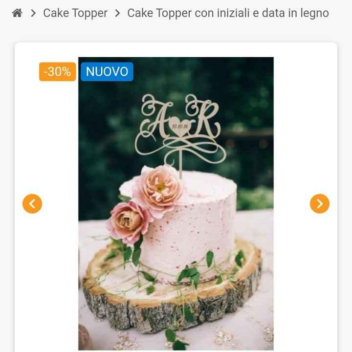 Cake Topper torta nuziale 🎂 - 1