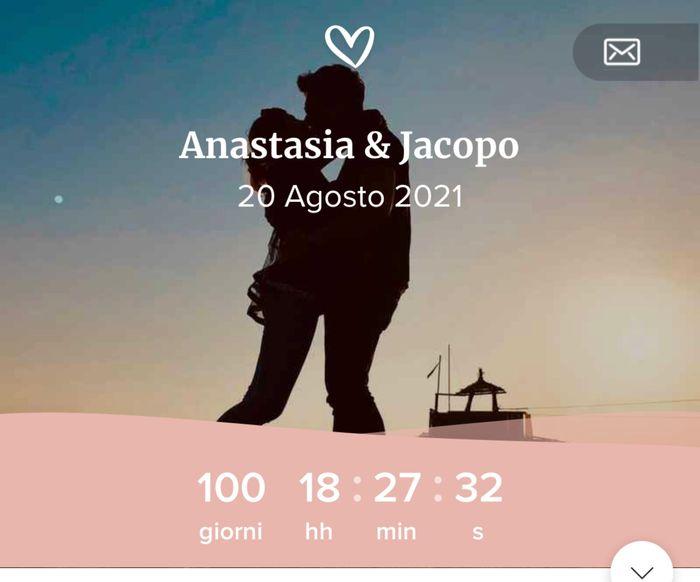 Promesse fatte a meno 100 giorni precisi 🥰 1