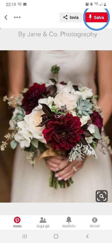 Bouquet rosso - 1