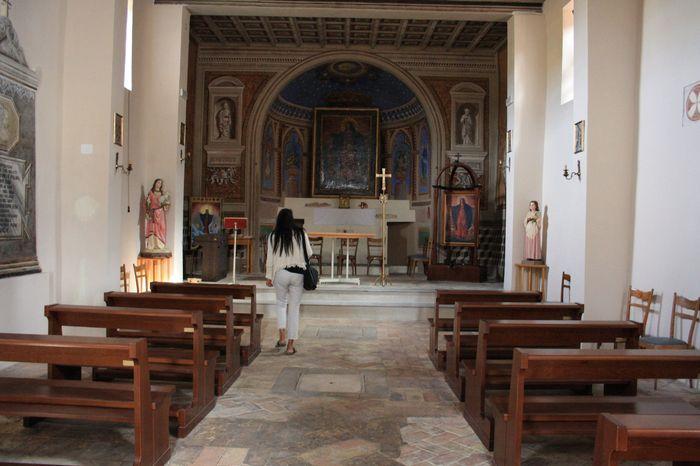 Matrimonio Bassano Romano : Chiesetta di santa maria dei monti bassano romano