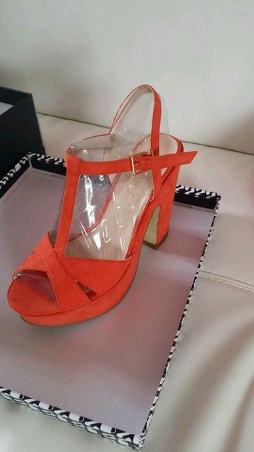 Scarpe Arancioni Sposa.Le Mie Scarpe Arancioni Primadonna Moda Nozze Forum