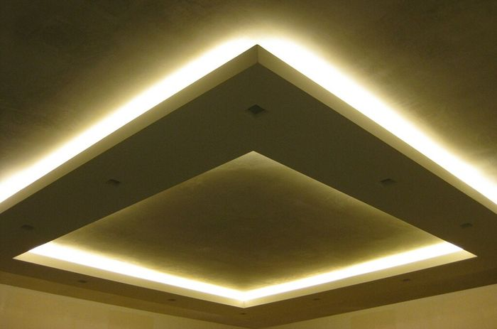 Controsoffitto con led effetto cielo stellato vivere for Led controsoffitto