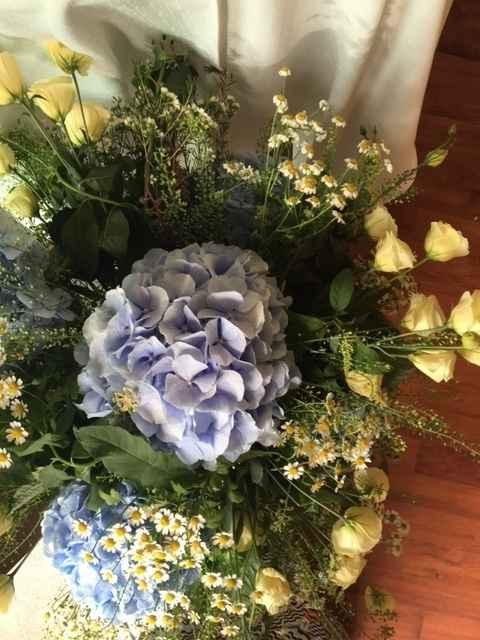 Composizioni floreali viste da vicino