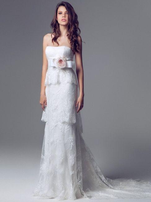 9a05e0a6db28 Ecco fatto ho perso la testa per un vestito da sposa Blumarine collezione  2014.