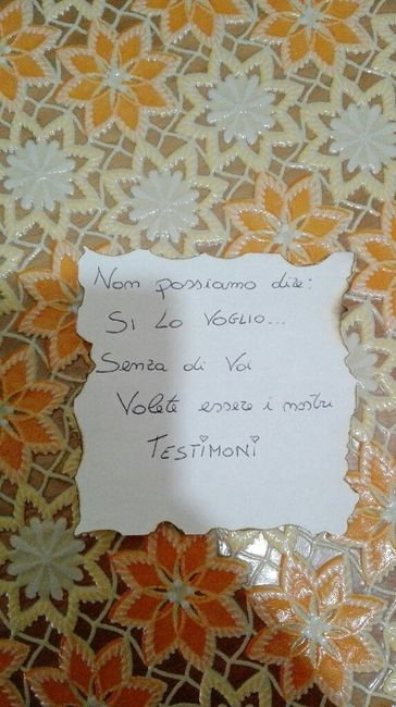 Sorpresa testimoni riuscita!! ✅ - 3
