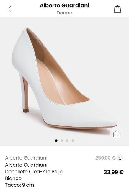Errore di prezzo scarpe sposa su Privalia 1